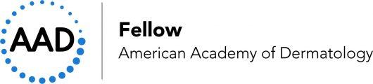 AAD Membership Seal for Dermatology