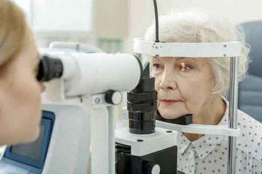Eye exam for detection of glaucoma