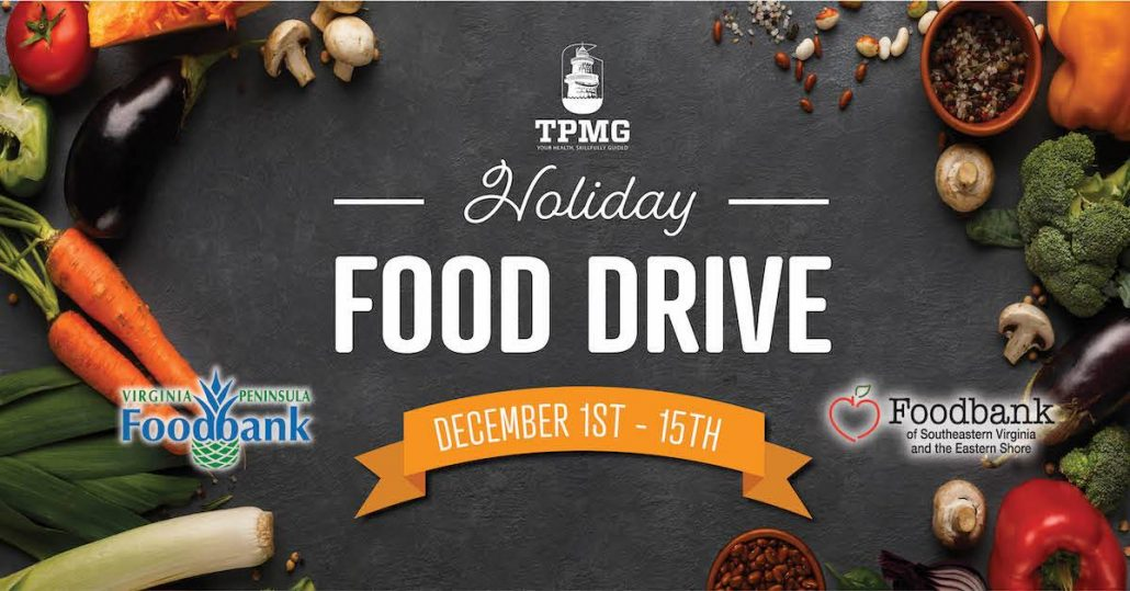TPMG Partners With Local Virginia Foodbanks for Holiday Food Drive
