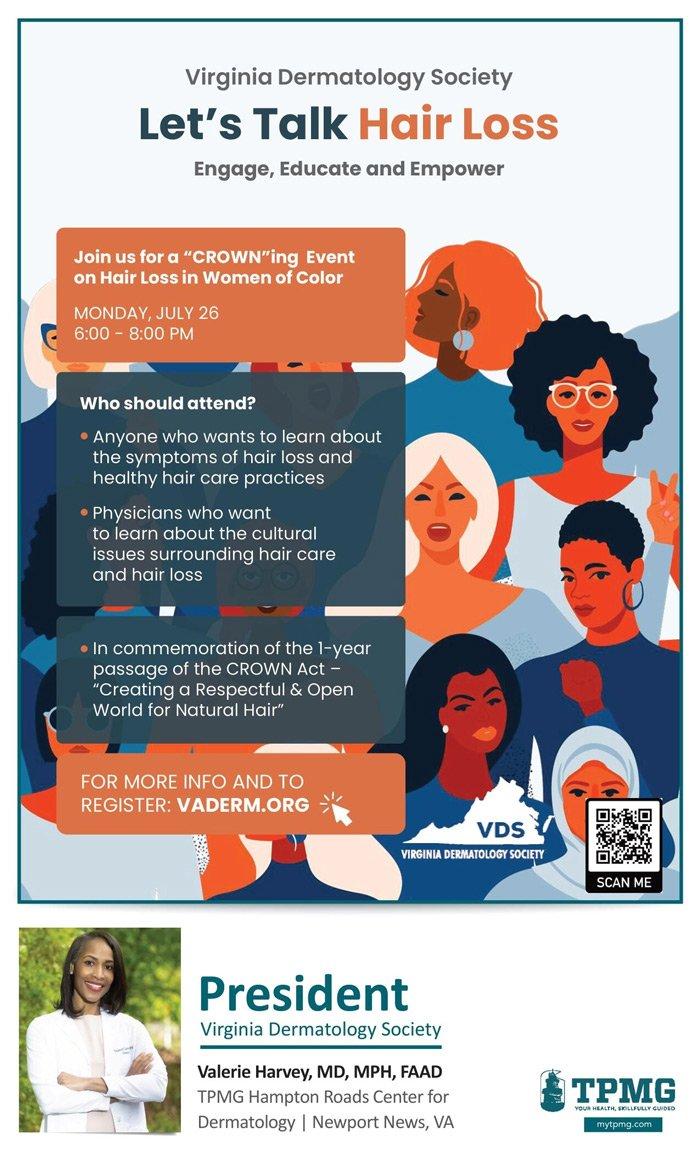 Let's Talk Hair Loss Event Dr.Harvey